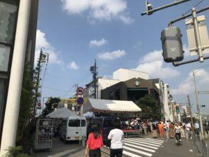 覚王山夏祭り